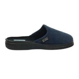 Slippers for diabetics Befado 132d 006 navy