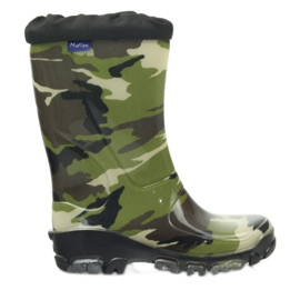 Wellington boots with silver ions Ren But black brown green
