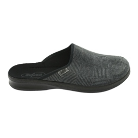 Grey Befado men's shoes pu 548M014