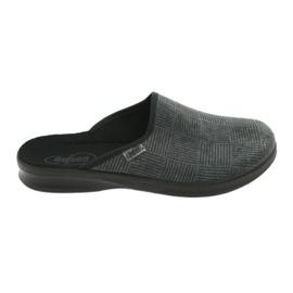 Grey Befado men's shoes pu 548M014