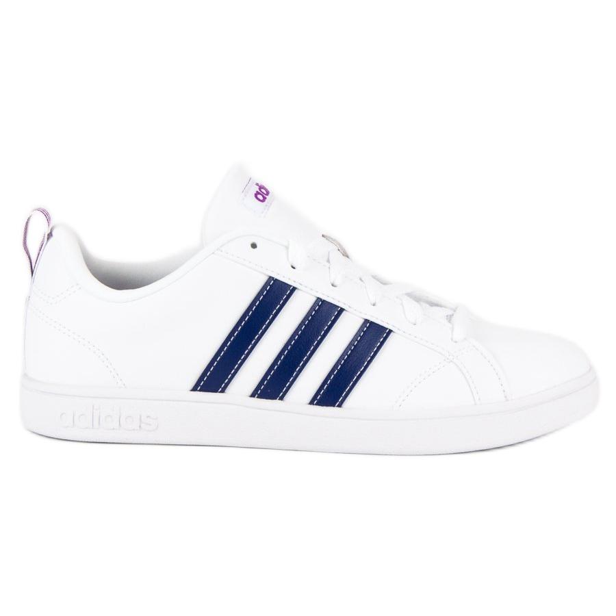 Adidas vs advantage in BB9620 white navy