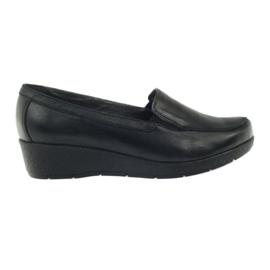 Angello 1720 moccasins shoes black