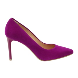 Pumps on a pin Espinto 774 fuchsia pink
