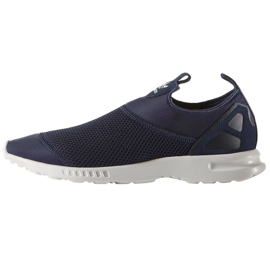 Adidas Originals Zx Flux Smooth Slip On W Shoes S78958 navy