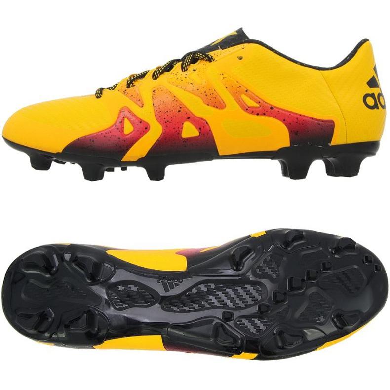 Football shoes adidas X 15.3 FG / AG M orange