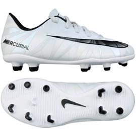 Football shoes Nike Mercurial Vortex Iii CR7 Fg Jr. 852494-401 white