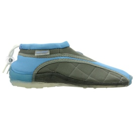 Aqua-Speed Jr. neoprene beach shoes blue-gray