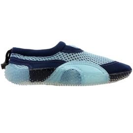 Neoprene beach shoes Aqua-Speed Jr blue