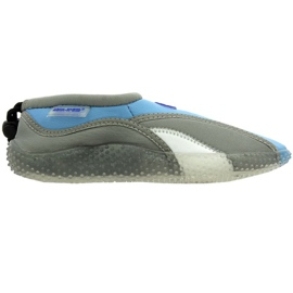 Aqua-Speed ​​Jr. neoprene beach shoes gray