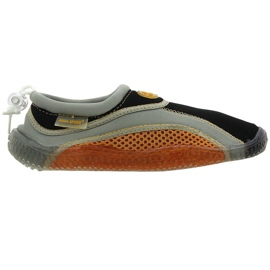 Aqua-Speed Jr. neoprene beach shoes brown