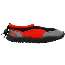 Aqua-Speed Jr red neoprene beach shoes