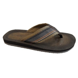 Brown Flip-flops Rucanor Manzano M 28709-02