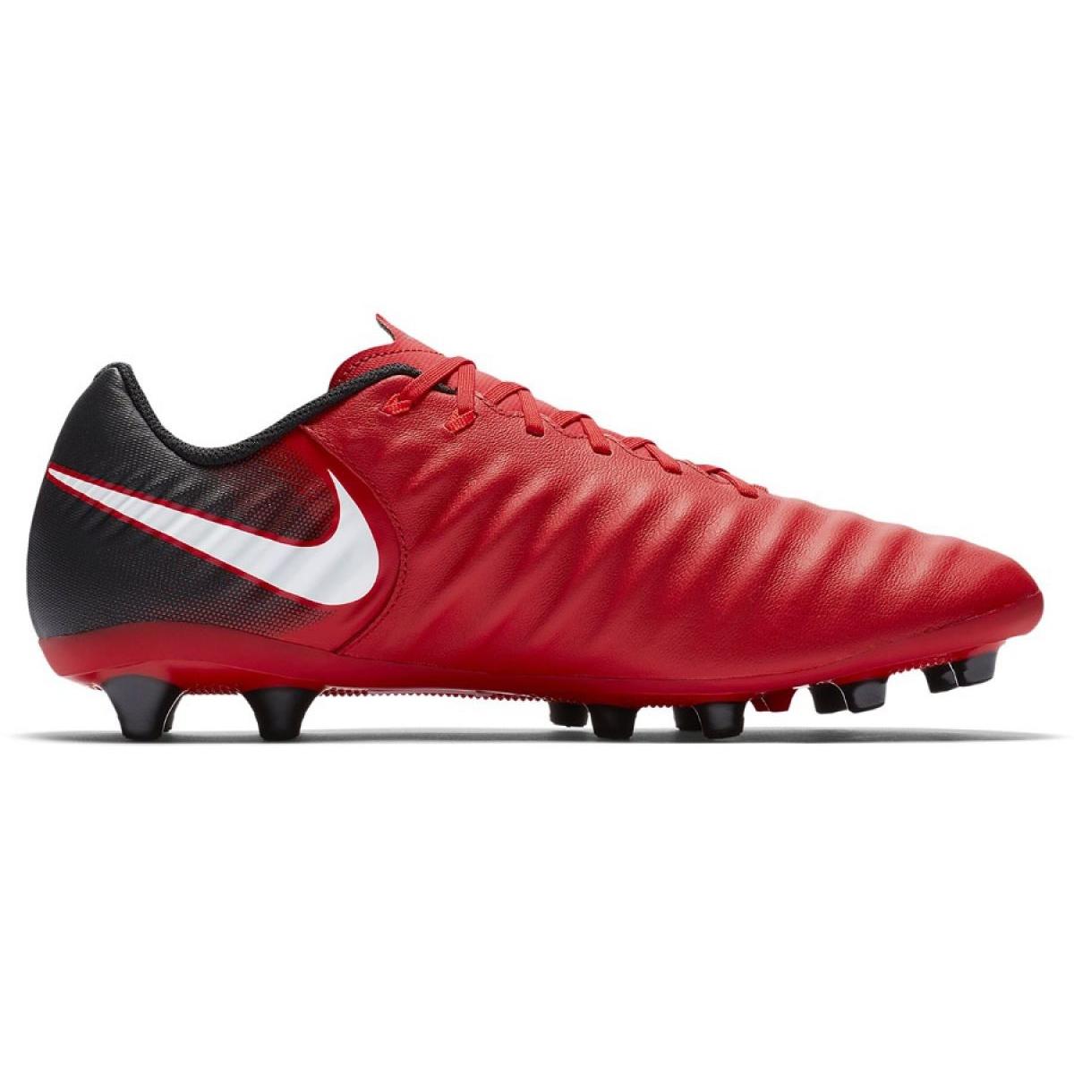 Benigno escaldadura Ventilar  Football shoes Nike Tiempo Ligera Iv Ag Pro M 897743-616 red red -  ButyModne.pl