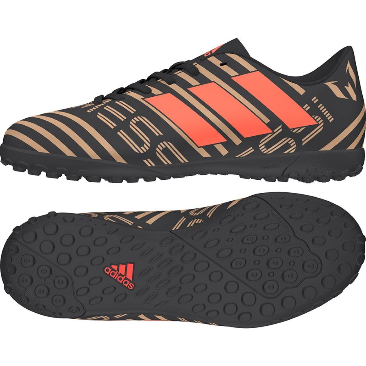 Momento Más Empresa  Adidas Nemeziz Messi Tango 17.4 Tf Jr CP9217 Football Boots black -  ButyModne.pl