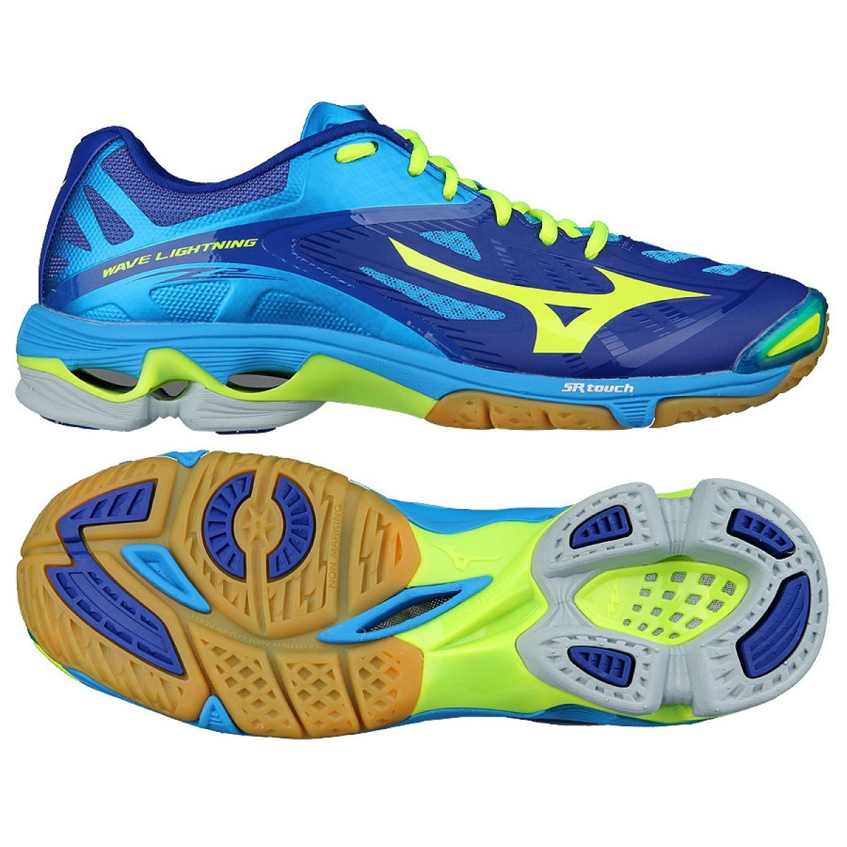 mizuno yellow volleyball shoes