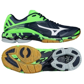 Volleyball shoes Mizuno Wave Lightening Z2 M V1GA160006 navy navy blue