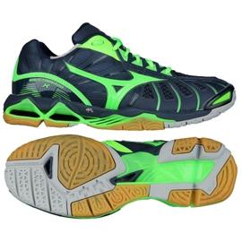 Volleyball shoes Mizuno Wave Tornado XM V1GA161236 navy navy blue