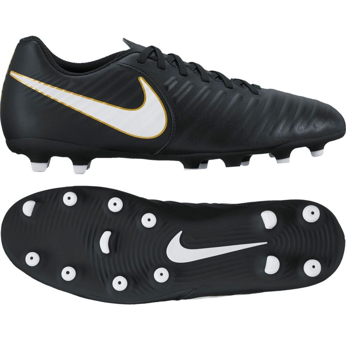 preferir llenar Giotto Dibondon  Football shoes Nike Tiempo Rio Iv Fg M 897759-002 black multicolored -  ButyModne.pl