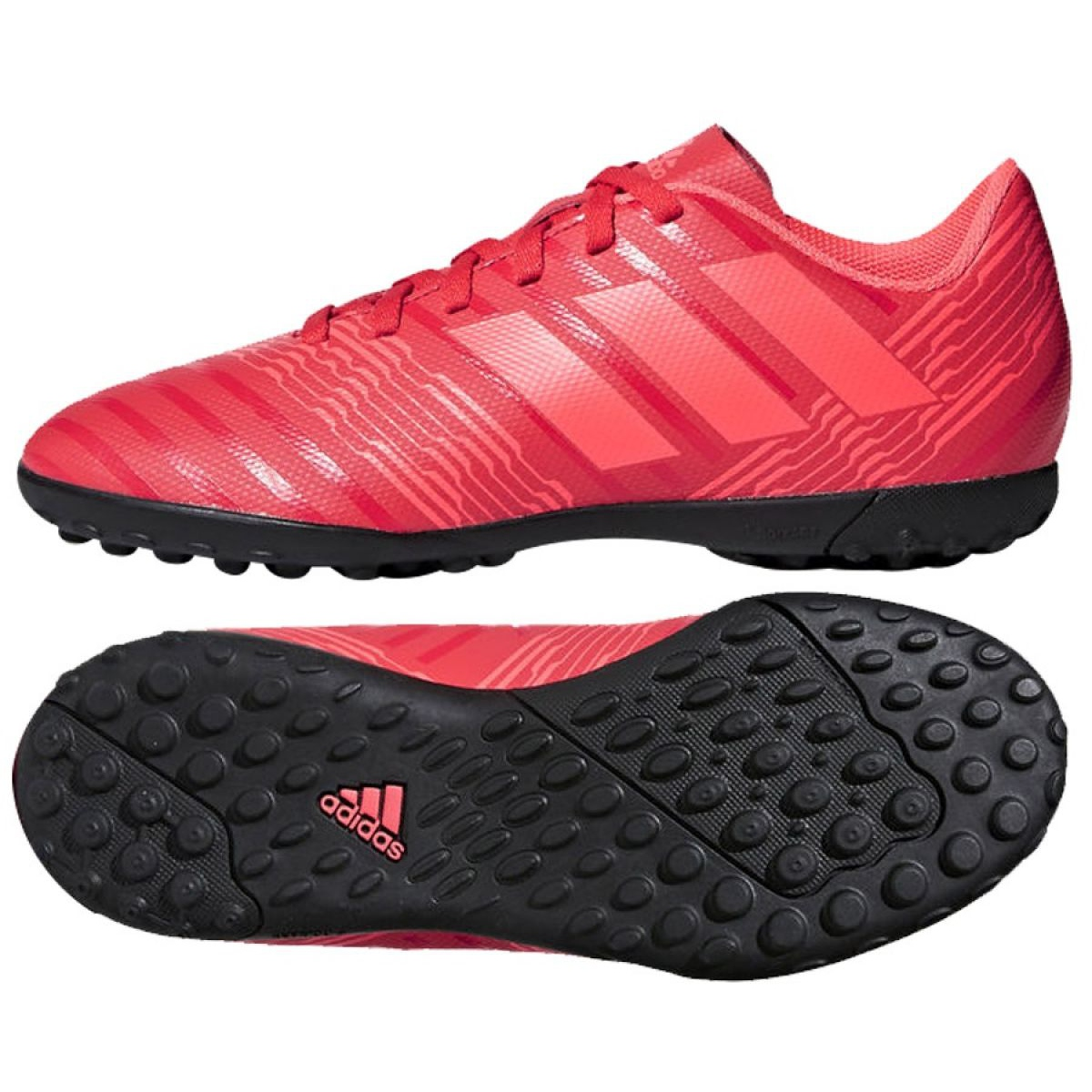 paso Regularmente personalizado  Adidas Nemeziz Tango 17.4 Tf Jr CP9215 football shoes red multicolored -  ButyModne.pl