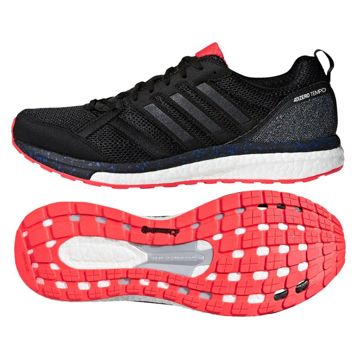 huge selection of f7f01 53982 Black Running shoes adidas Adizero Tempo 9 Akt M CP9367