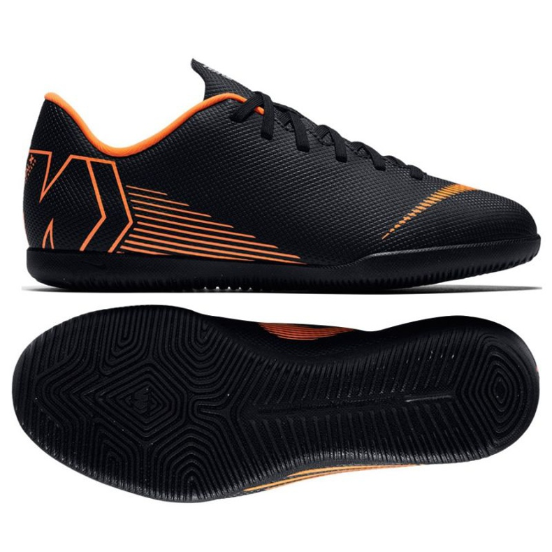 Nike Mercurial Vapor 12 Club indoor shoes black
