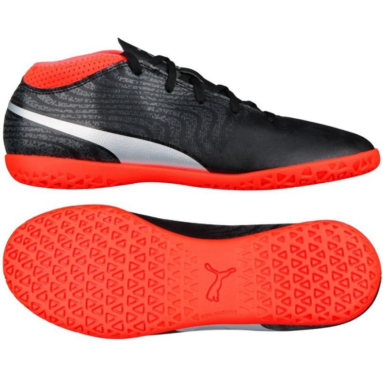 Puma One 18.4 It Junior football boots black
