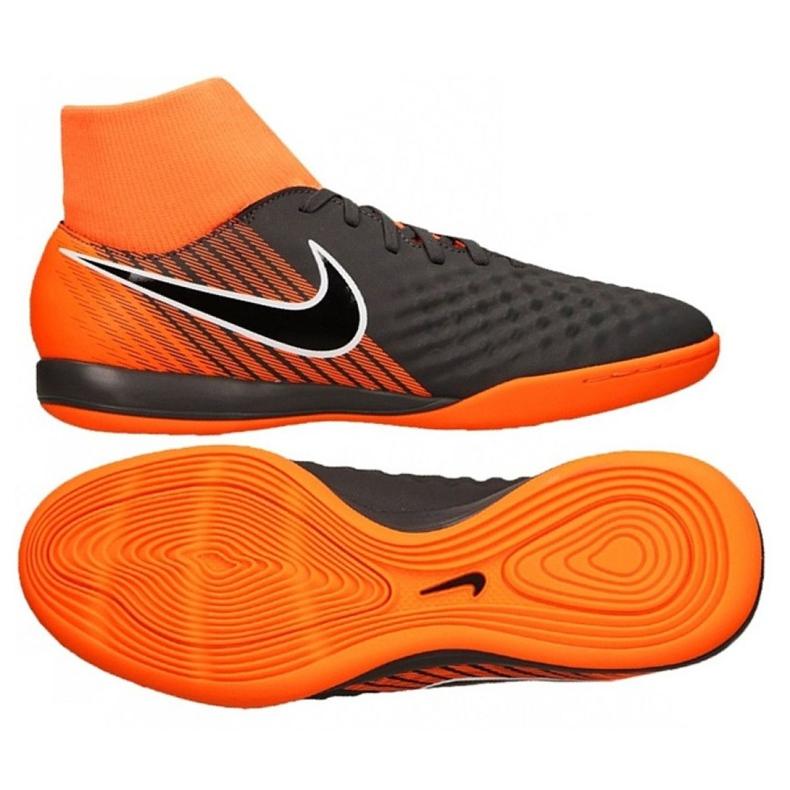 Football shoes Nike Magista Obrax 2 Academy Df Ic M AH7309-080-S gray / silver grey