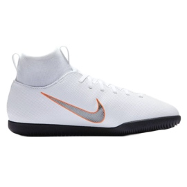 Nike Mercurial Superflyx 6 Club indoor shoes white