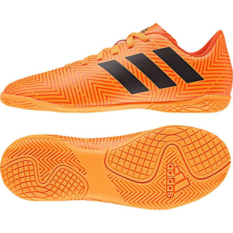 Adidas Nemeziz Tango 18.4 IN Jr DB2382 football shoes orange