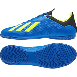 Adidas X Tango 18.4 In M football shoes navy