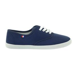American Club navy blue sneakers women's sneakers