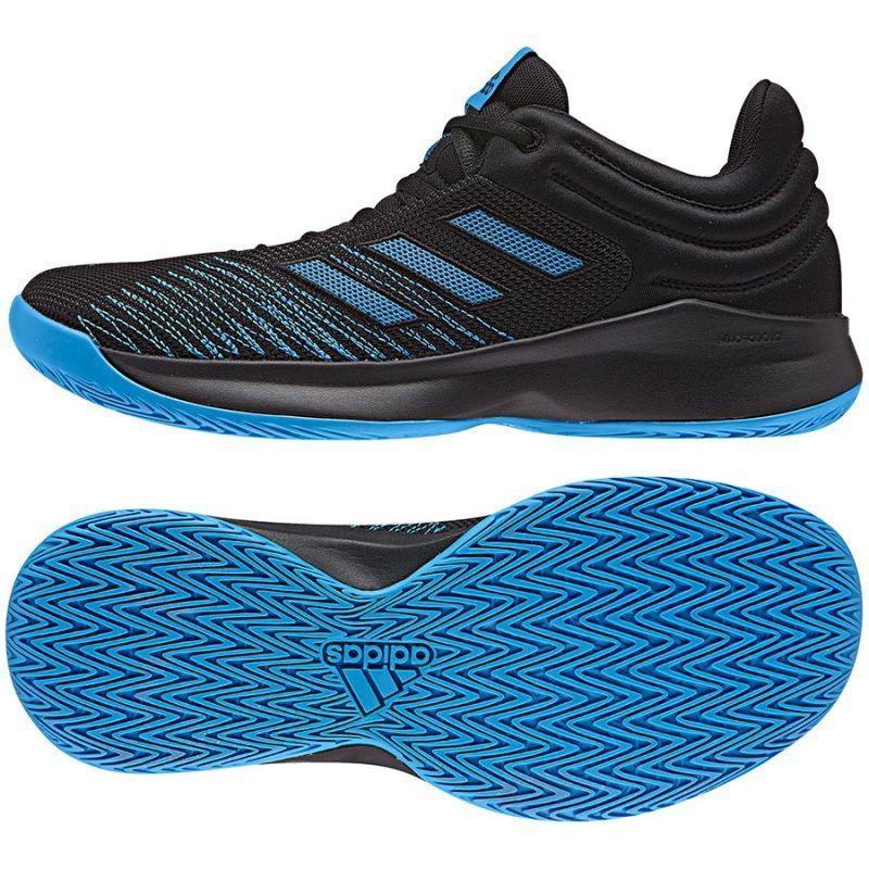 Basketball shoes adidas PRO Spark Low 2018 M AC8518 black