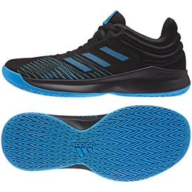 Basketball shoes adidas PRO Spark Low 2018 M AC8518 black
