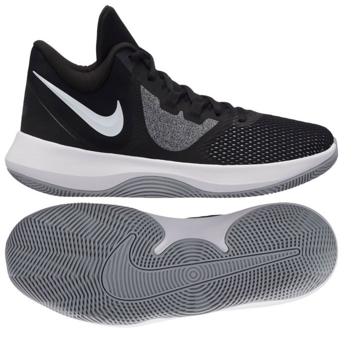 nike basketball shoes black