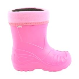 Befado children's footwear kalosz- róż 162X101 pink