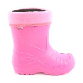 Pink Befado children's shoes kalosz-róż 162Y101
