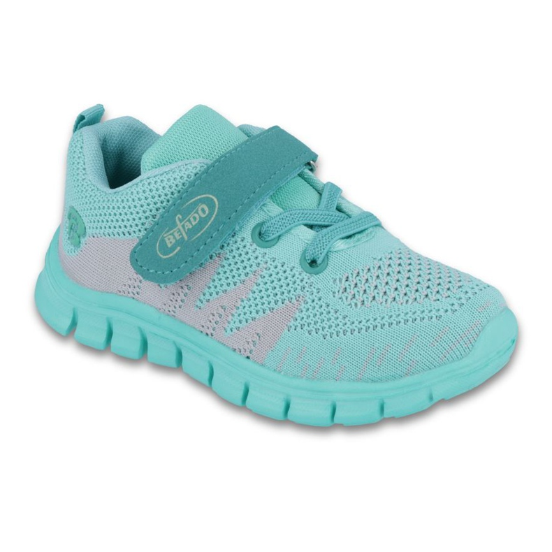 Green Befado children's shoes up to 23 cm 516X026