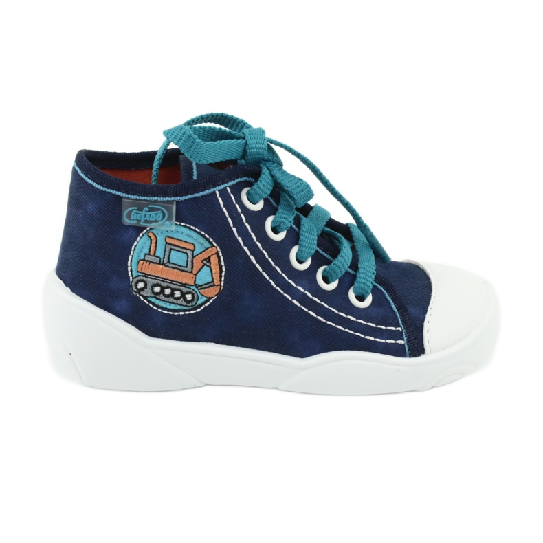 Blue Befado children's shoes 218P054
