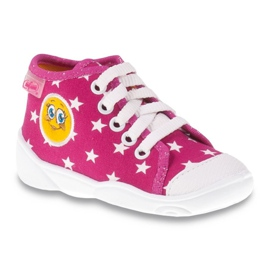 Befado colored children's shoes 218P055 pink