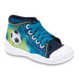 Navy Befado children's shoes 218P049