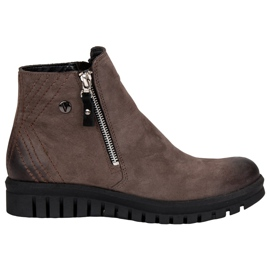 Low Ankle Boots VINCEZA brown