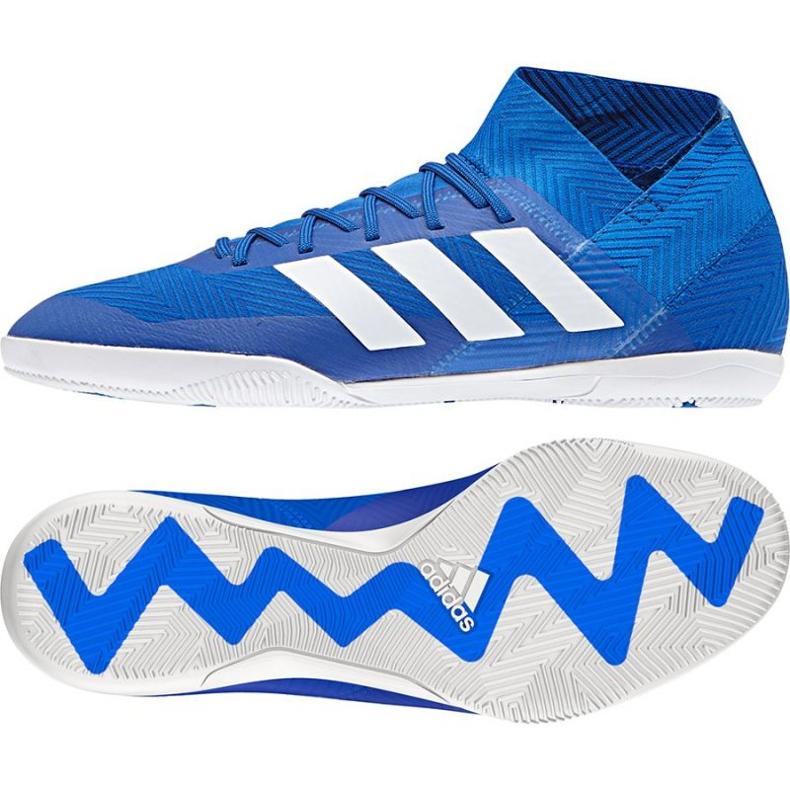 Football boots adidas Nemeziz Tango 18.3 IN M DB2196 blue