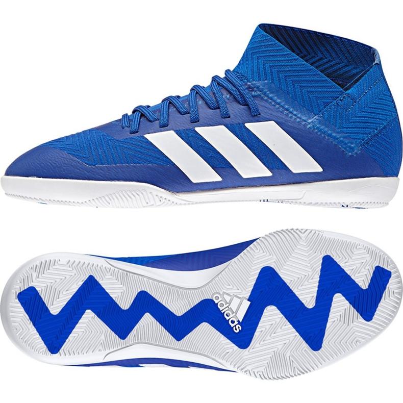 Adidas Nemeziz Tango 18.3 IN Jr DB2374 football shoes blue blue