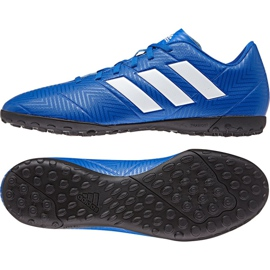 Adidas Nemeziz Tango 18.4 Tf M DB2264 Football Boots blue multicolored