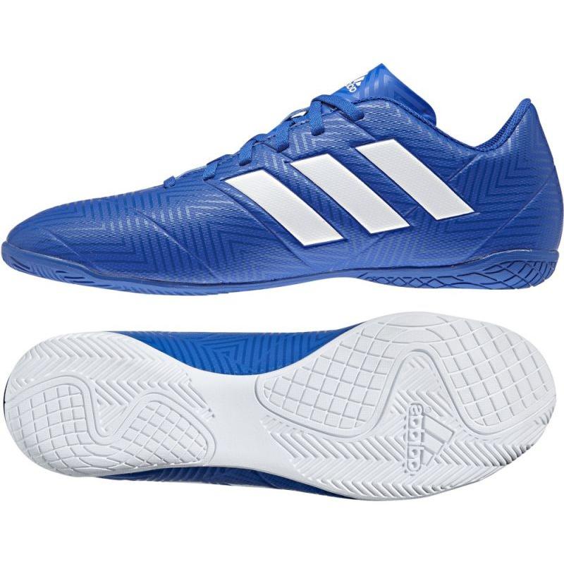 Saga Mandíbula de la muerte Nathaniel Ward  Adidas Nemeziz Tango 18.4 IN M DB2254 Football Boots blue - ButyModne.pl
