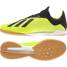 Football boots adidas X Tango 18.3 In M DB2441 yellow yellow