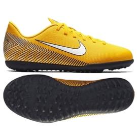 Nike Mercurial Vapor 12 Club Football Shoes Neymar Tf Jr AO9478-710