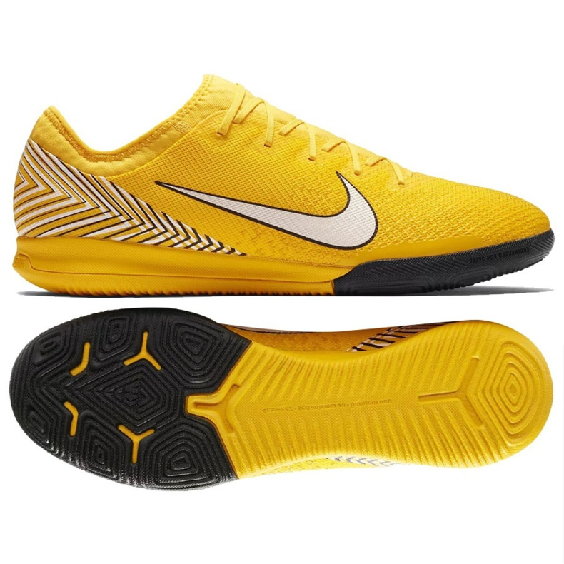 Nike Mercurial Vapor 12 Football Boots Neymar Pro Ic M AO4496-710 yellow multicolored