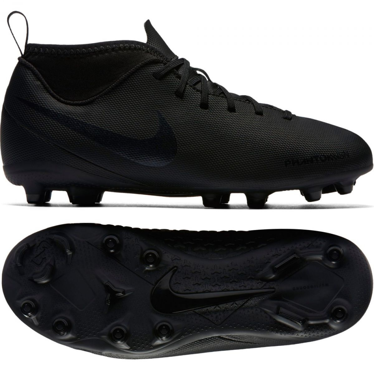 Encantador estrés Despedida  Football shoes Nike Phantom Vsn Club Df Fg Jr AO3288-001 black multicolored  - ButyModne.pl
