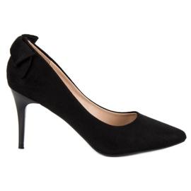 Fashionable Suede VINCEZA black